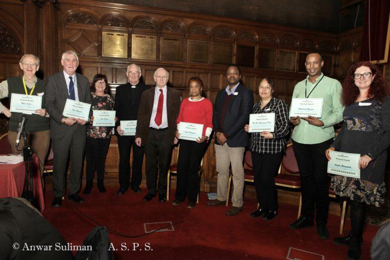 Honouree group photo