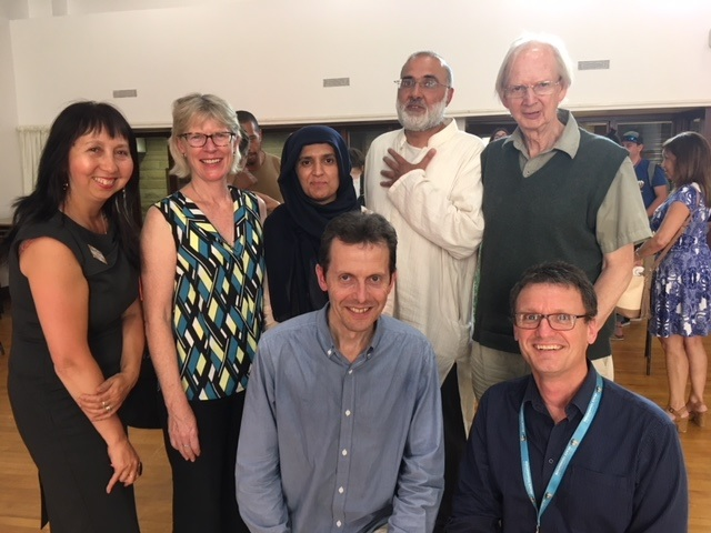 Panni Loh:Cohesion Sheffield; Jeni Vine: Cohesion Advisory Group; Usma Foundation 4 Peace; Rob Unwin: DECSY; Tariq Bashir: Who is Your Neighbour; Mike Fitter: Cohesion Advisory Group; Mark Robinson: Foundation 4 Peace